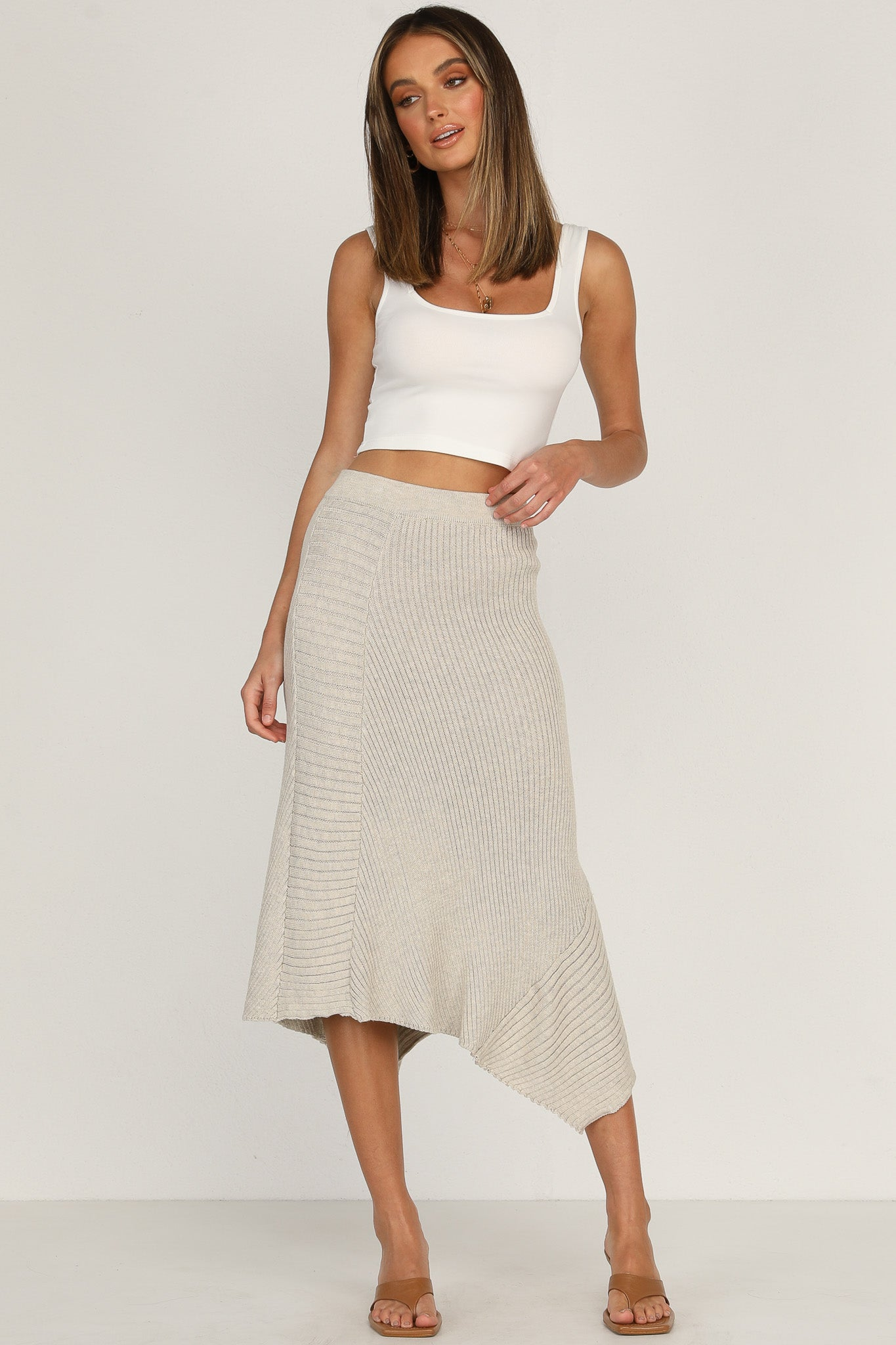 George Knit Skirt