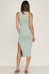 Spencer Dress (Sage)