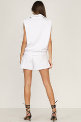 Carter Shorts (White)