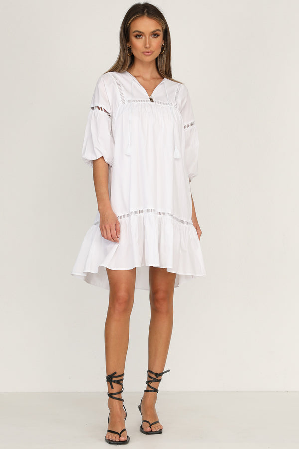 Luther Dress (White)