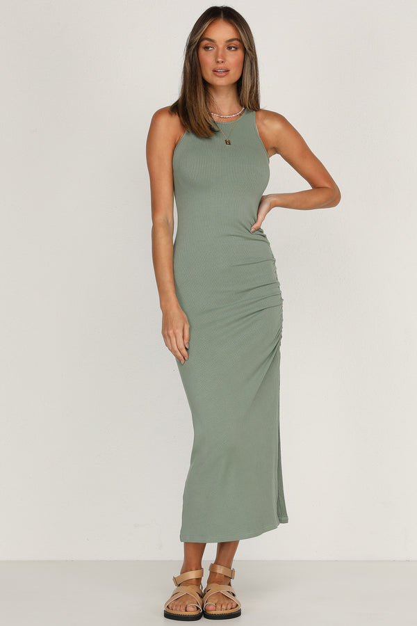 Skylar Dress (Khaki)