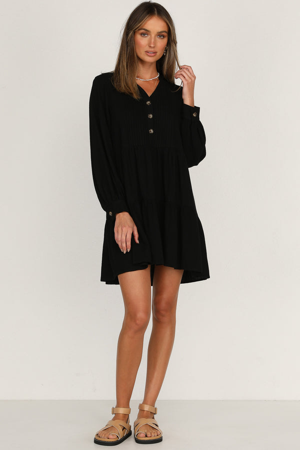 Dream Valley Dress (Black)