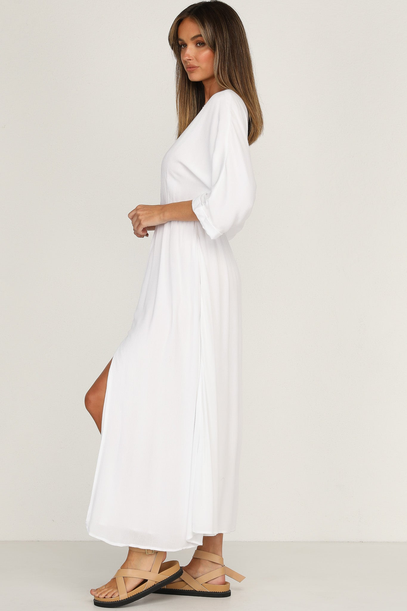 Verity Maxi Dress (White)