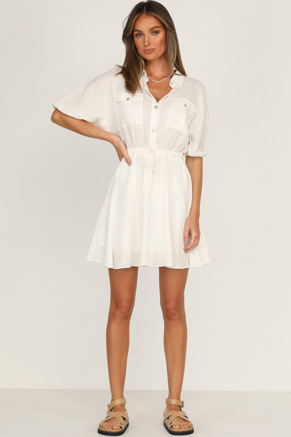 Louella Dress (White)