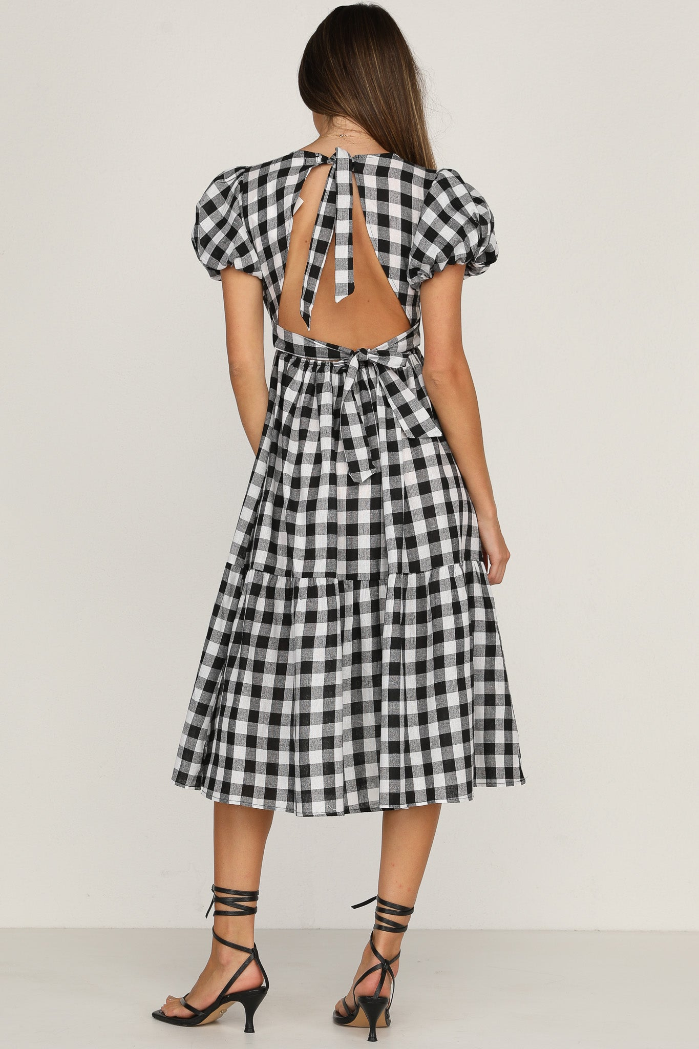 Private Garden Dress (Gingham)