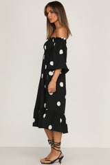 Petra Dress (Black)