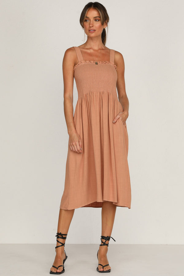Magnolia Dress (Tan)