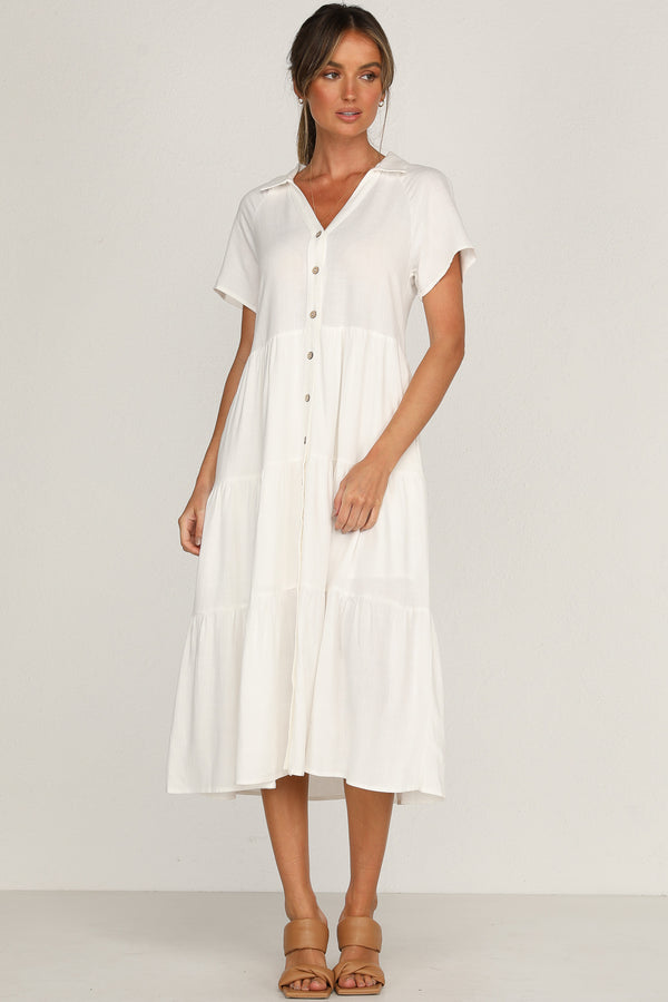 Audrey Dress (White)