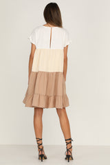 Kaia Dress (Beige)