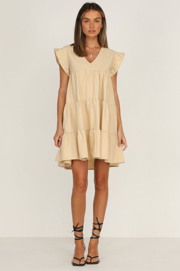 Piper Dress (Beige)