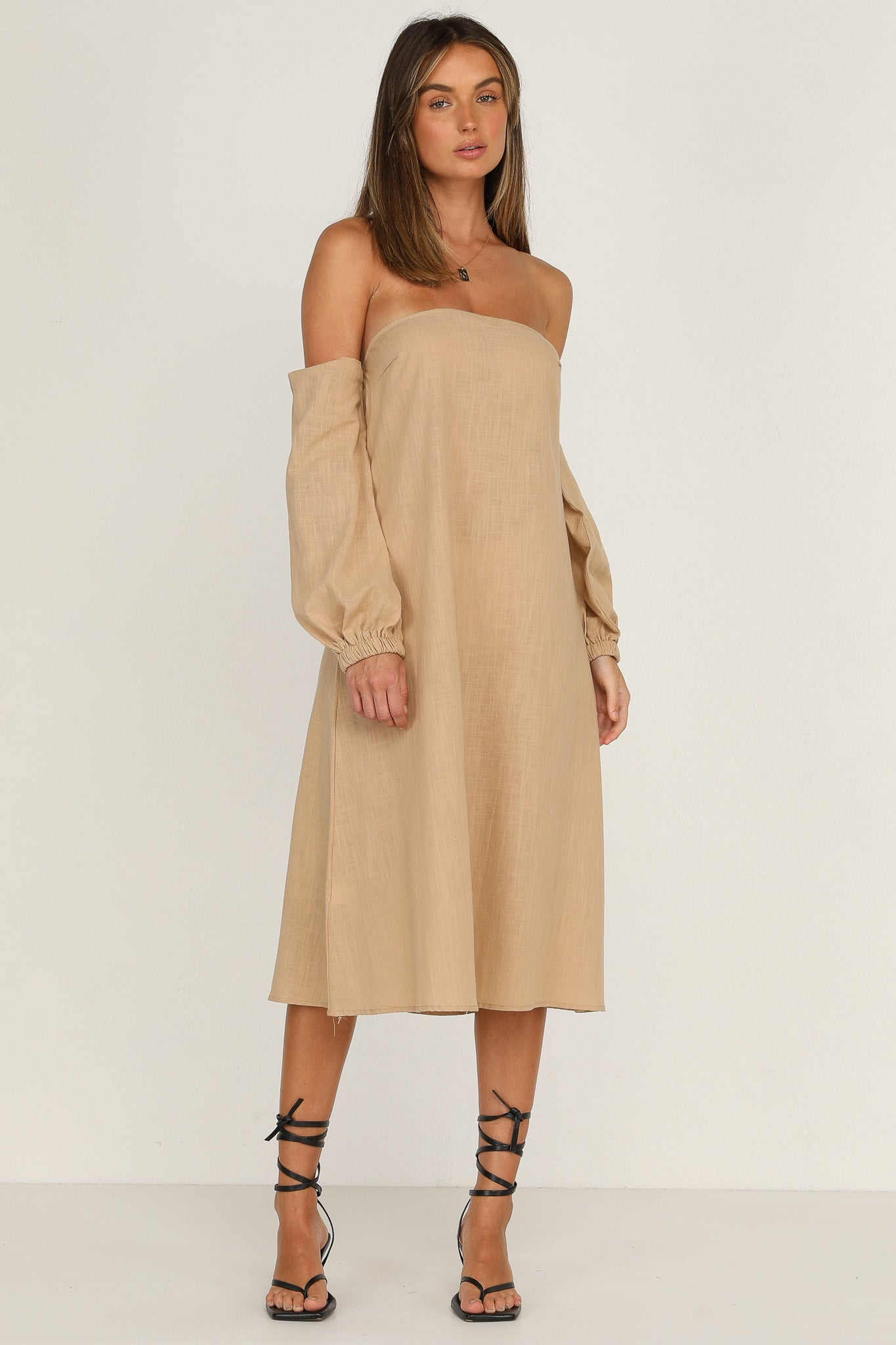 Honor Dress (Tan)