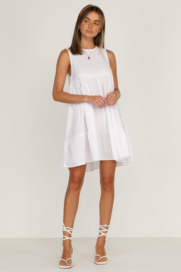 York Dress (White)