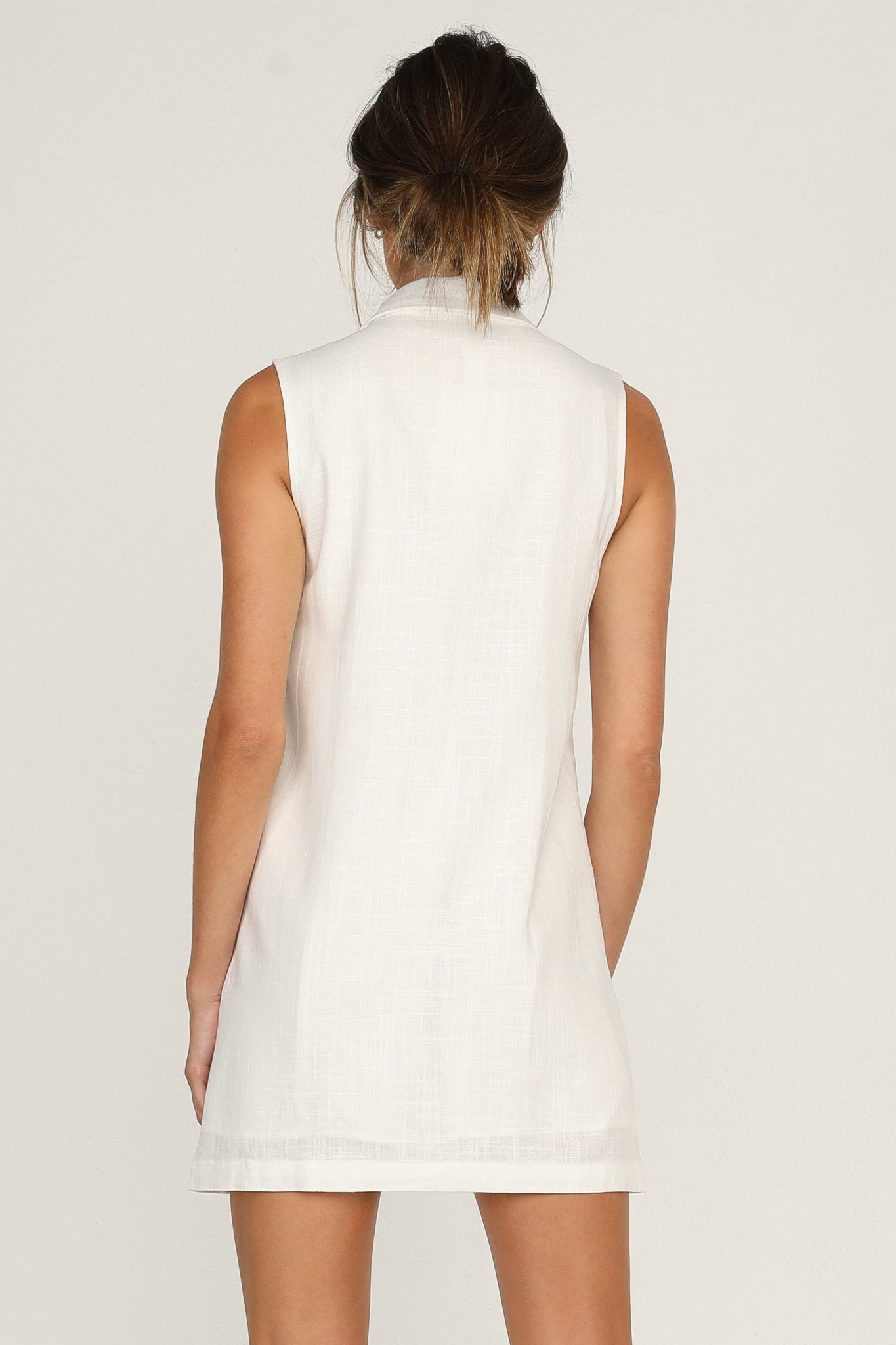 Pia Dress (White)