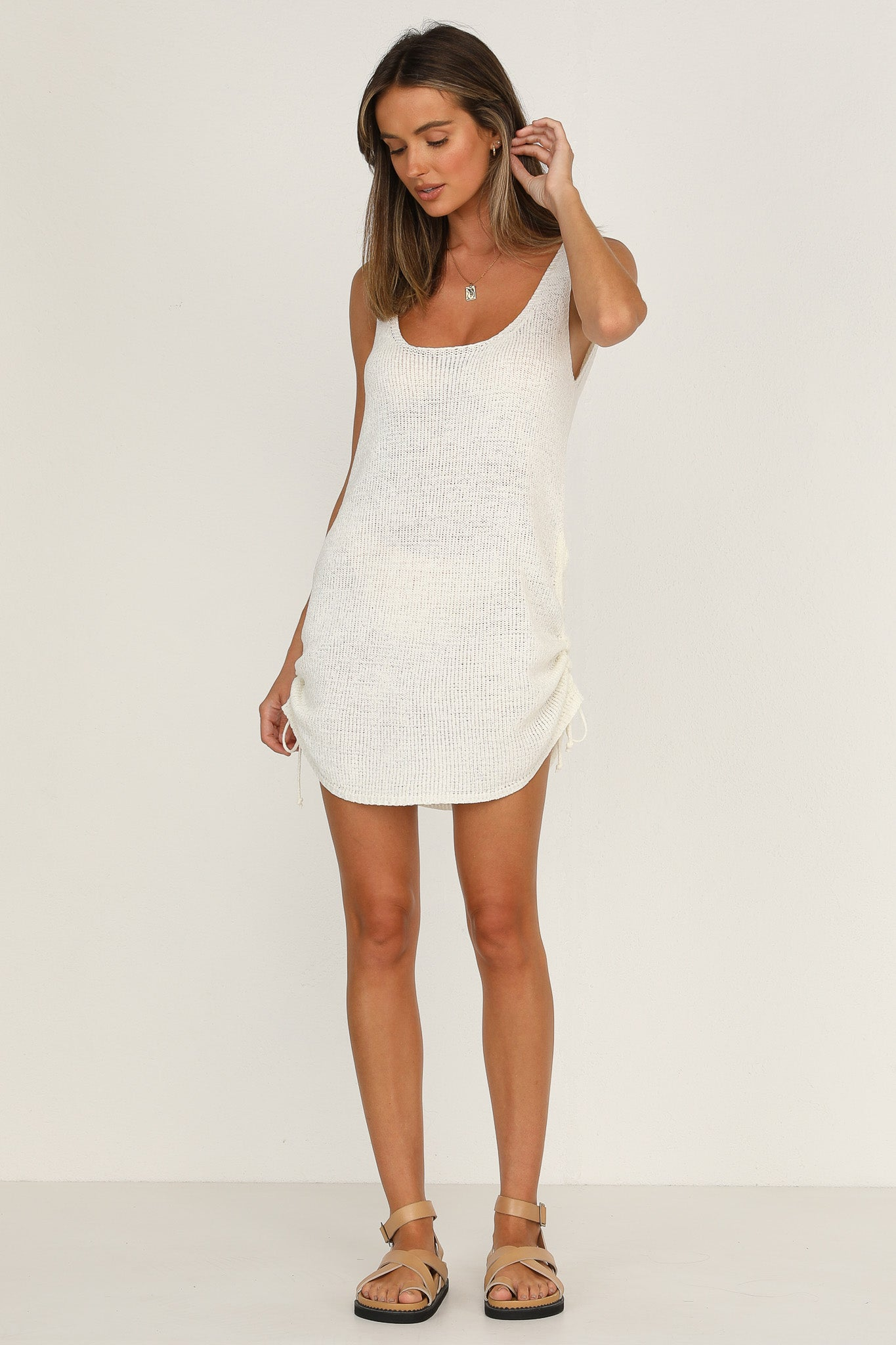Byron Dress (White)