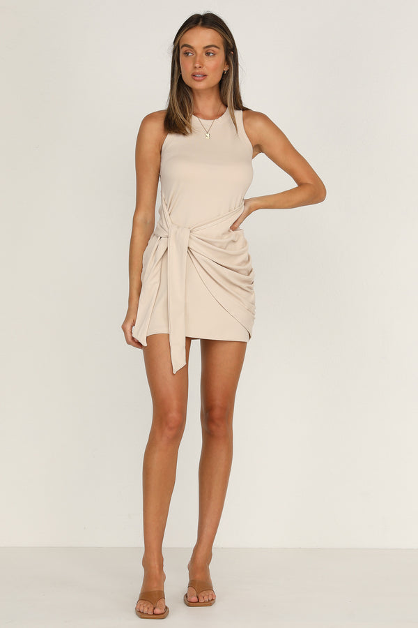 Tau Dress (Beige)