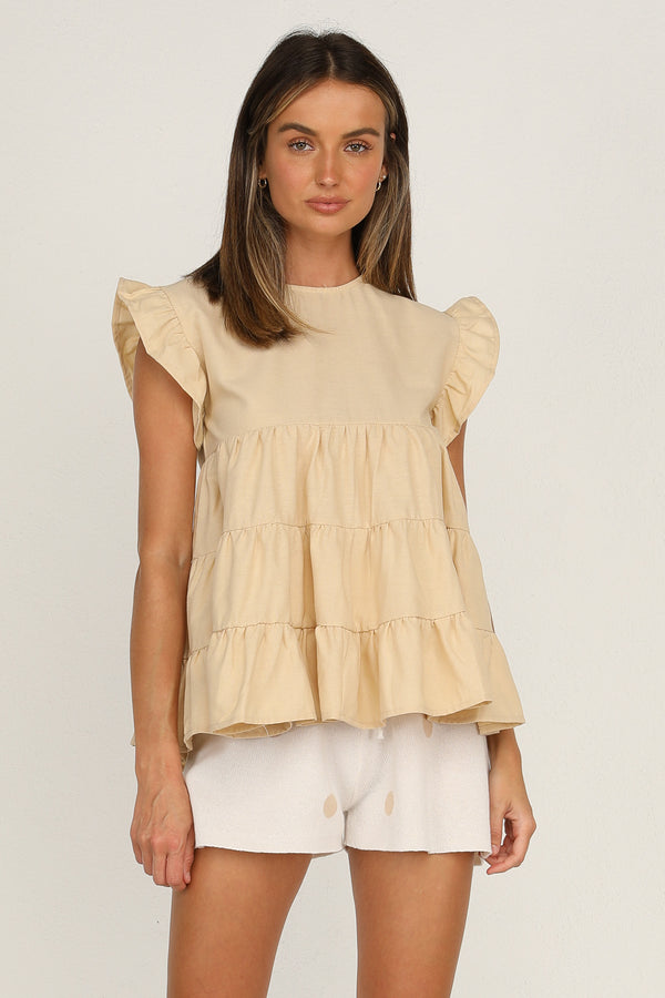 Zelda Top (Beige)