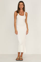 Taryn Dress (White)