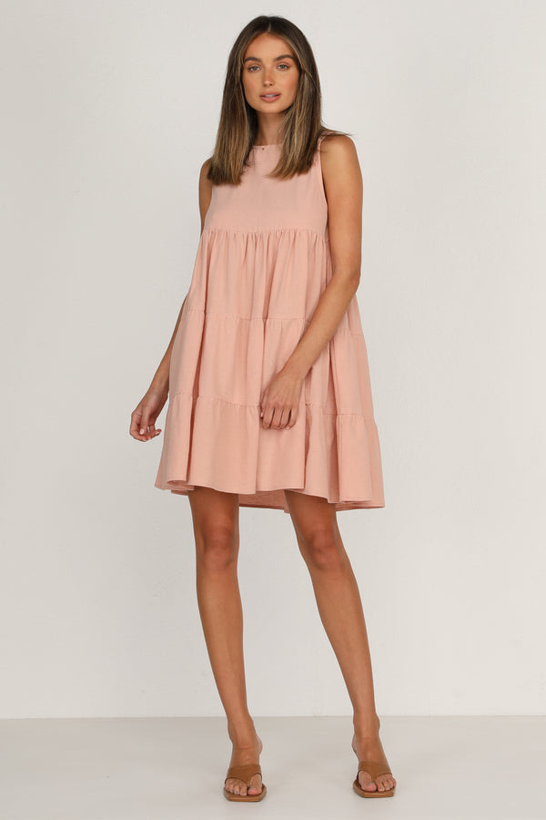 York Dress (Blush)