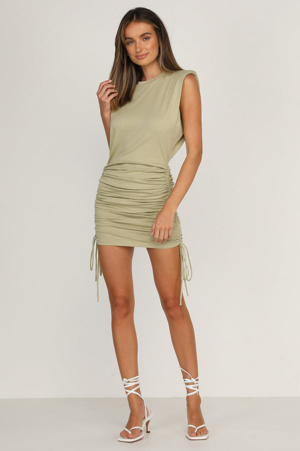 Rebellion Dress (Olive)