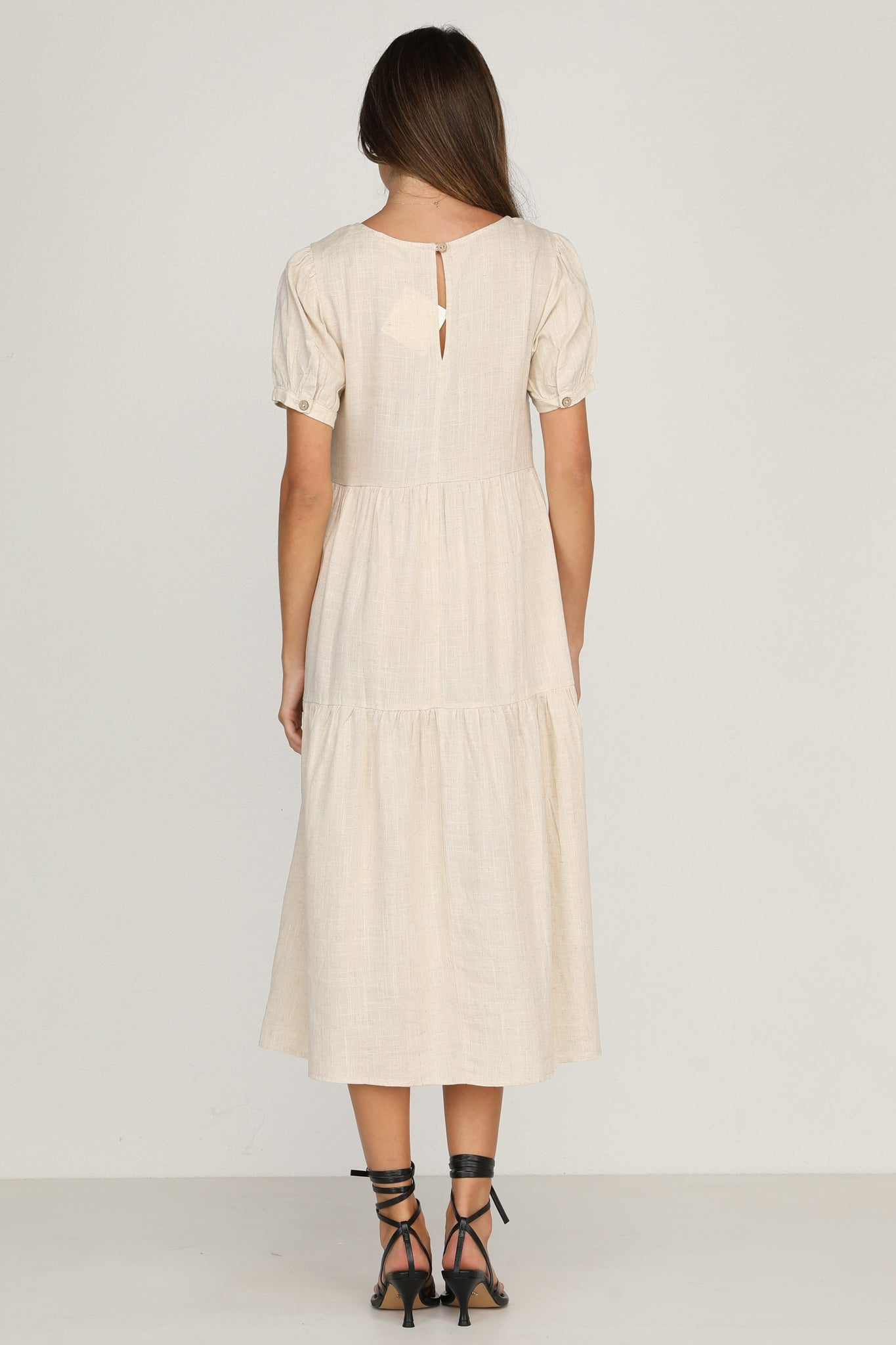 Luna Dress (Beige)