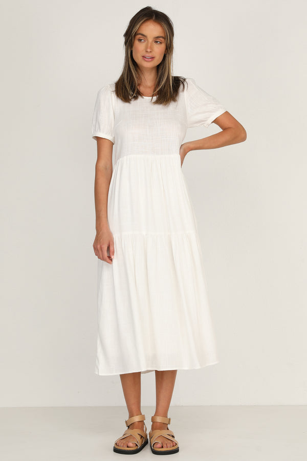 Luna Dress (White)