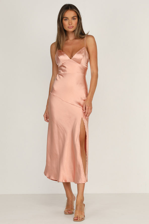 Teagan Dress (Blush)