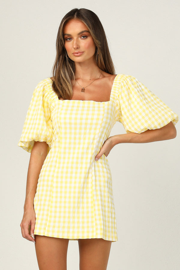 Tuscany Dress (Lemon)