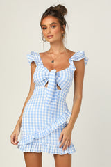 Croatia Dress (Blue)