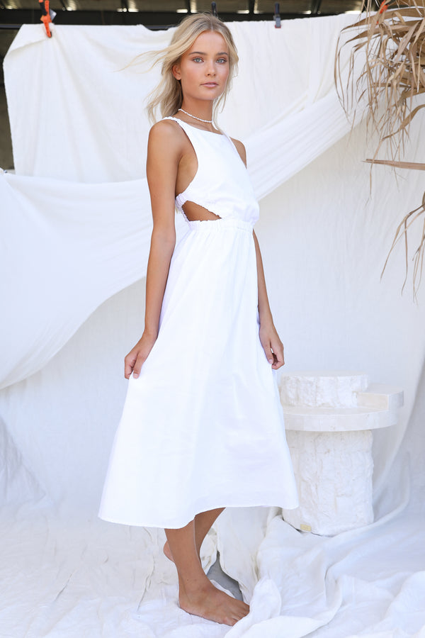 Harper Dress (White)