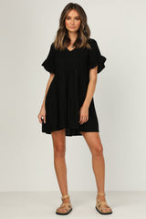 Winifred Dress (Black)