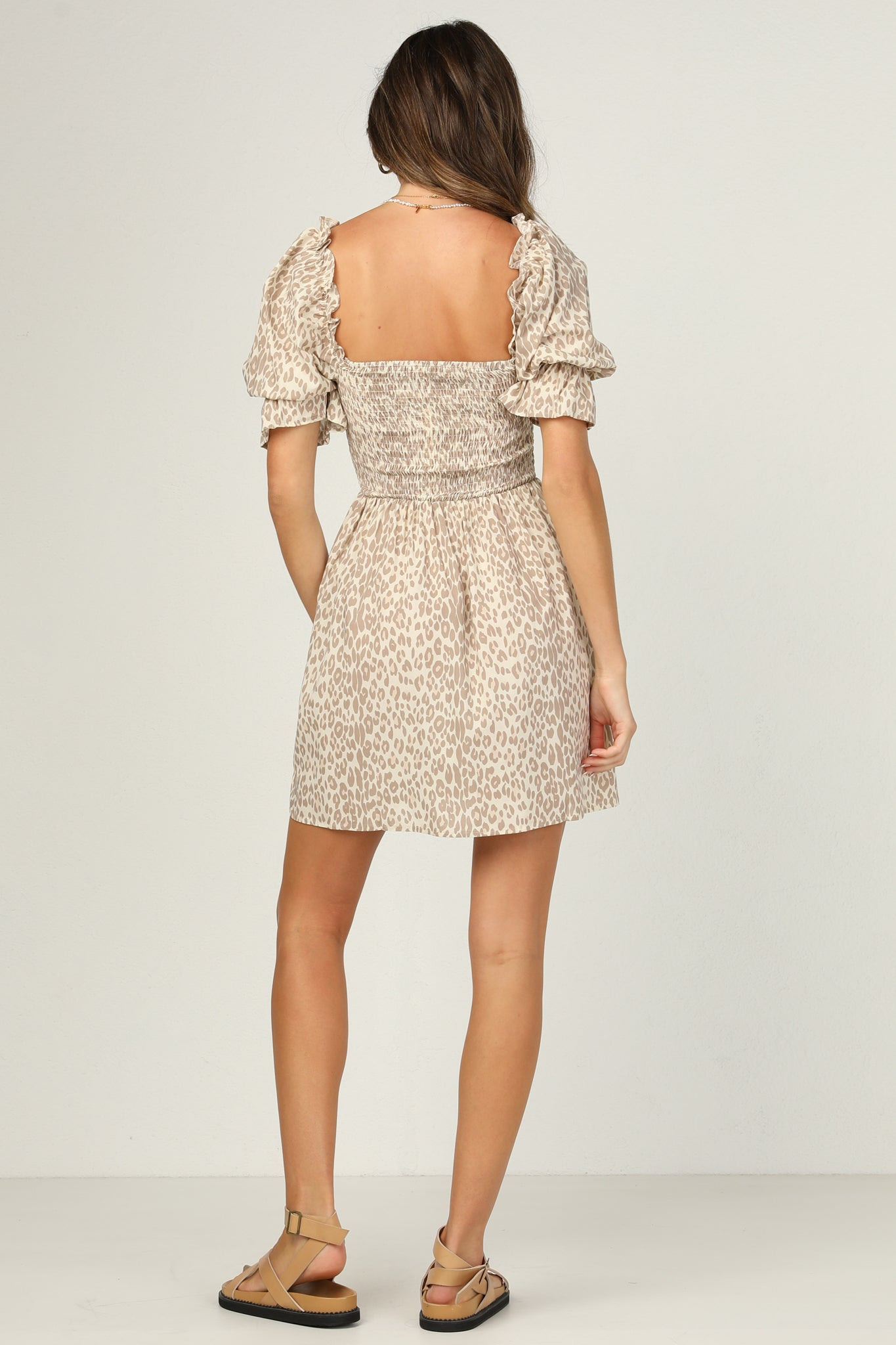 Chateau Dress (Leopard)