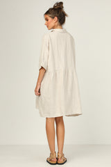 Archer Dress (Beige)