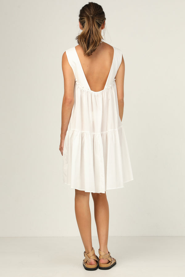 Demi Dress (White)