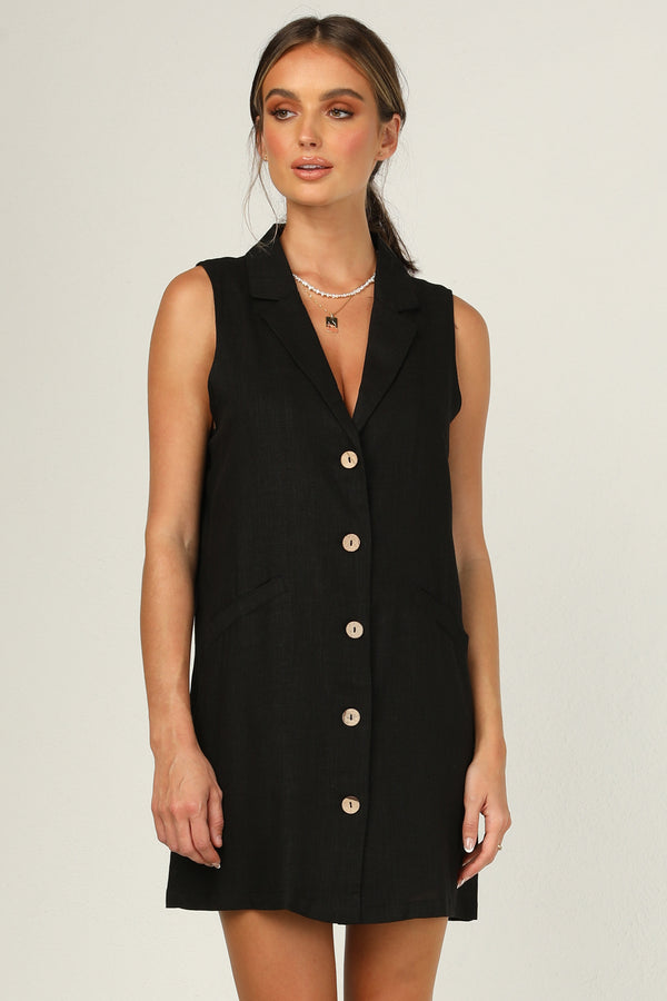 Pia Dress (Black)