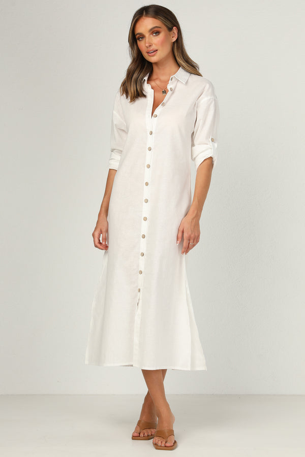 Mykonos Dress (White)