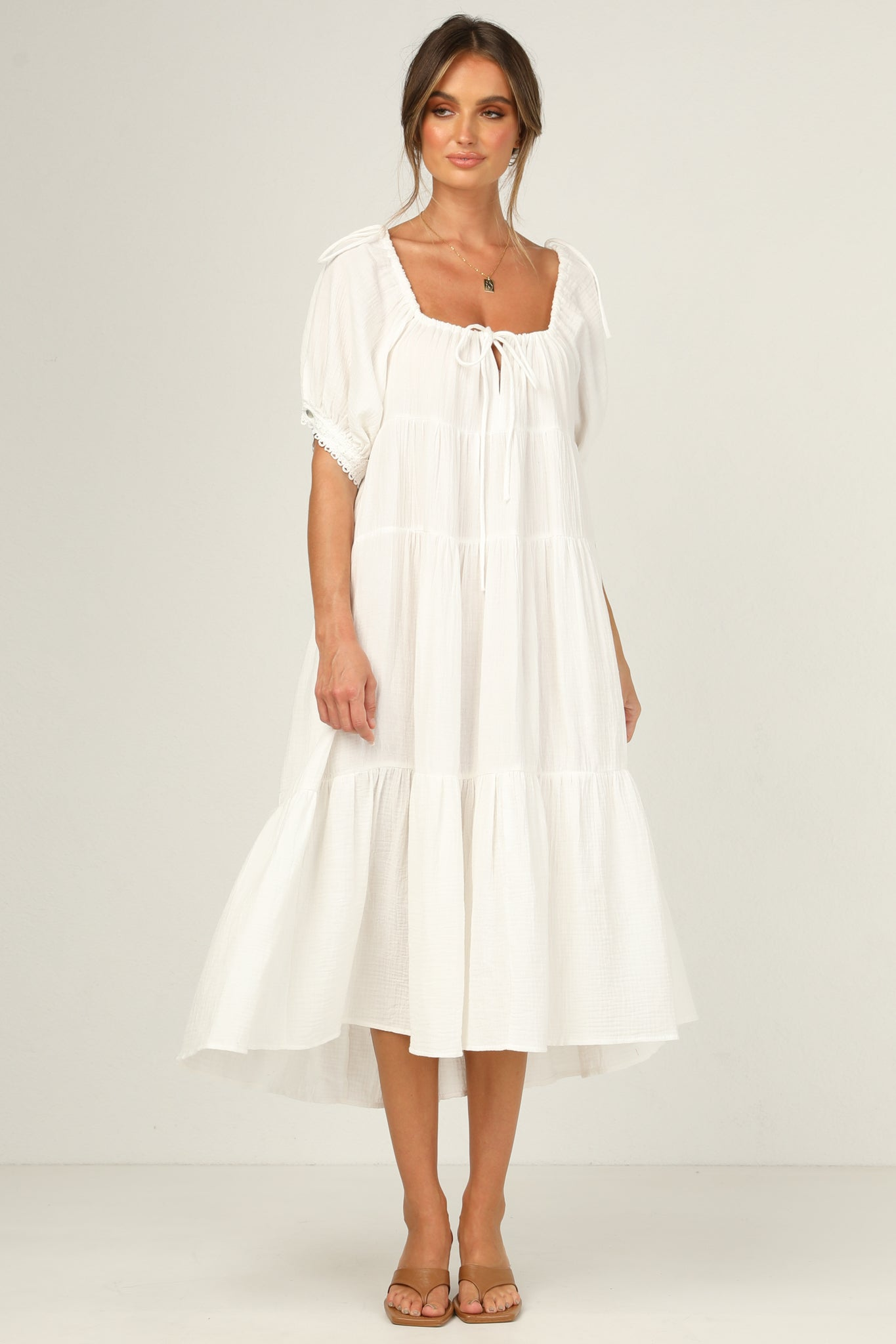 Reagan Dress (White)