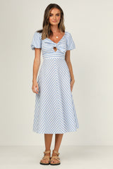 Capri Dress (Blue)
