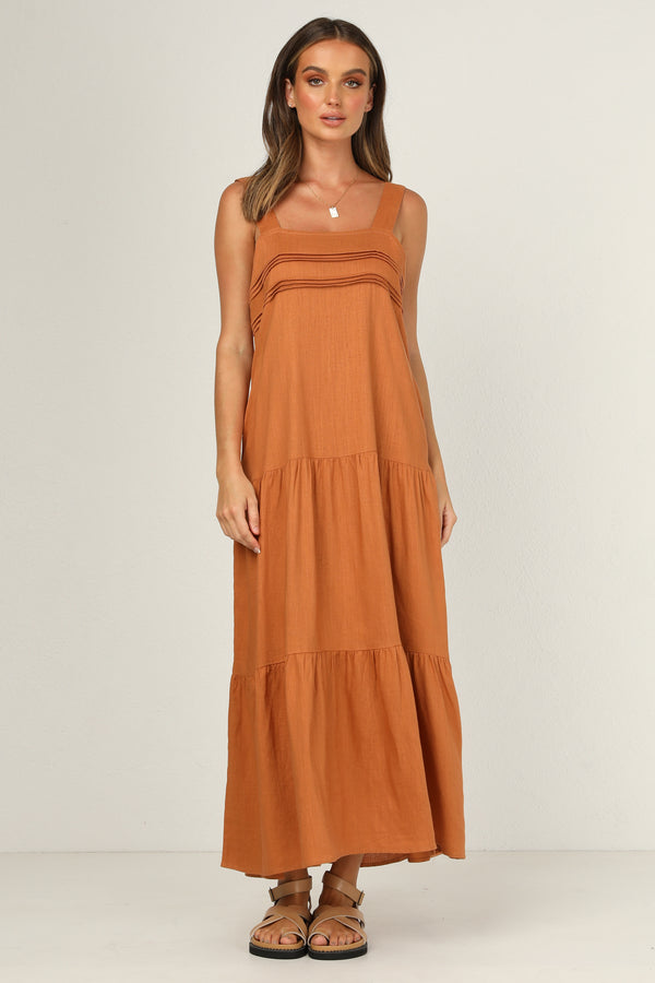 Lulu Dress (Tan)