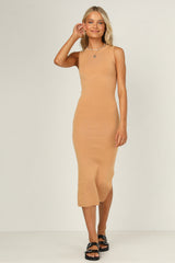 Fletcher Knit Dress (Rust)
