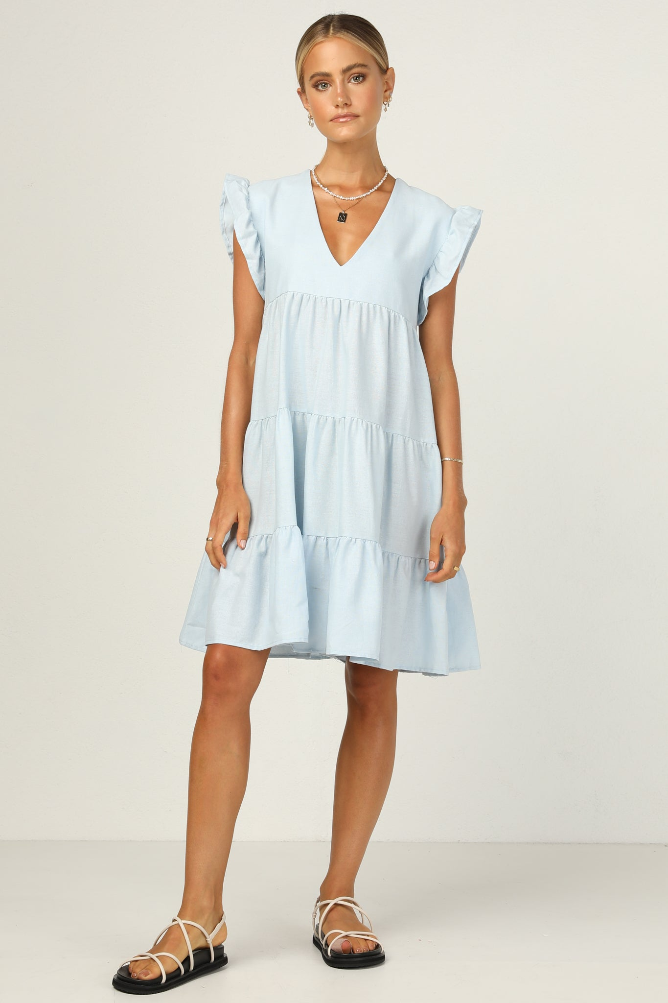 Piper Dress (Blue)