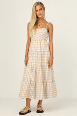 Catalina Dress (Beige)