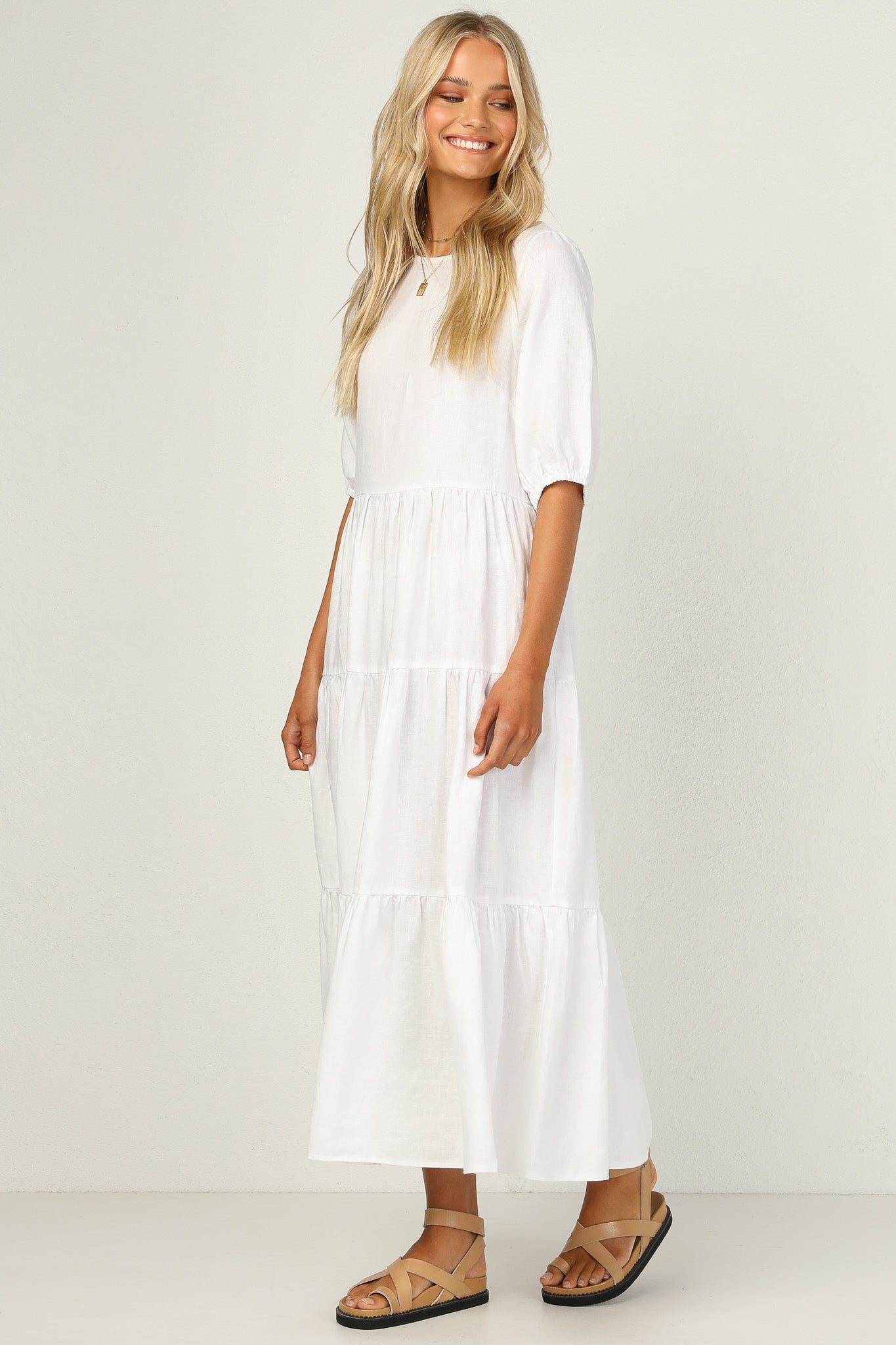 Autumn Dress (White)