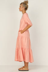 Autumn Dress (Peach)