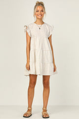 Tate Dress (Beige)