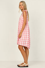 Heather Dress (Pink)