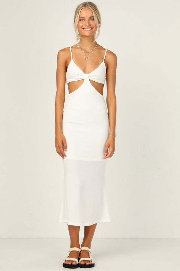 Carmen Dress (White)