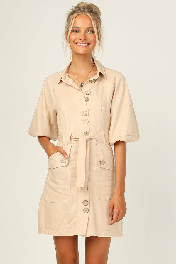 Hunter Linen Dress