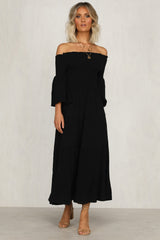 Exhalation Dress (Black)