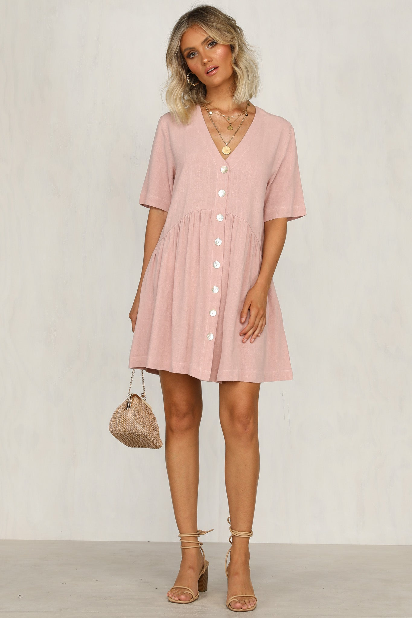 Double Time Dress (Pink)