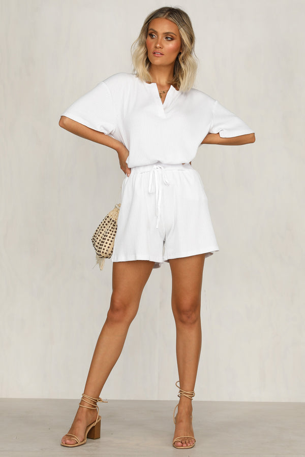 Avalon Shorts (White)